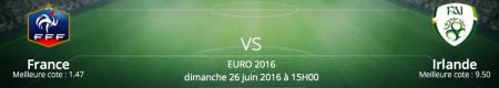 Pronostics France / Irlande