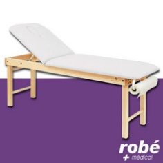 Un divan de massage en bois Robé médical