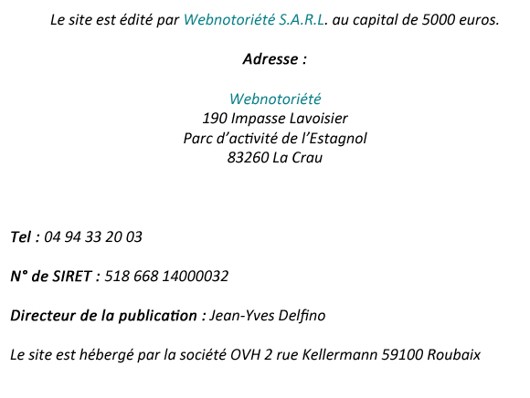 mentions-legales ovh